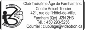 Club Troisieme Age de Farnham