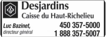 Desjardins - Caisse du Haut-Richelieu