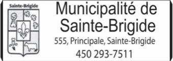 Municipalité de Sainte-Brigide