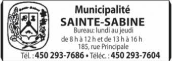 Municipalité de Sainte-Sabine