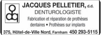 Jacques Pelletier Denturologiste