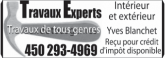 Travaux Experts